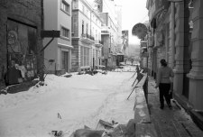 Bucharest's historical center before modernization