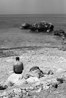 Contemplating the Ionian Sea, Lefkas, April 2011