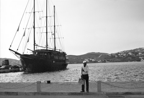 Waiting for tourists, Paros island, July 2011