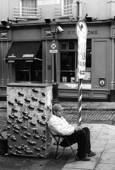 Street scene, Dublin, August 2010