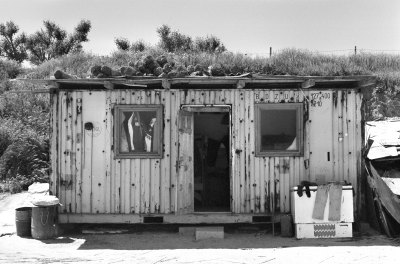 Fishermen's huts in Vama Veche