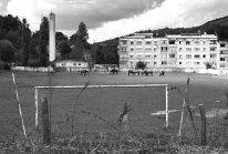 Soccer field in Rosia Montana