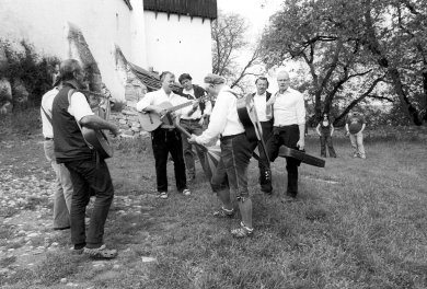 Traditional celebration in Viscri