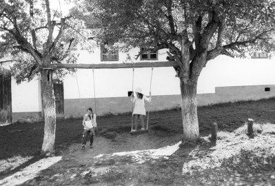 Summer in the old Saxon village of Viscri